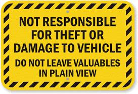 information hoarder featured image hazard sign
